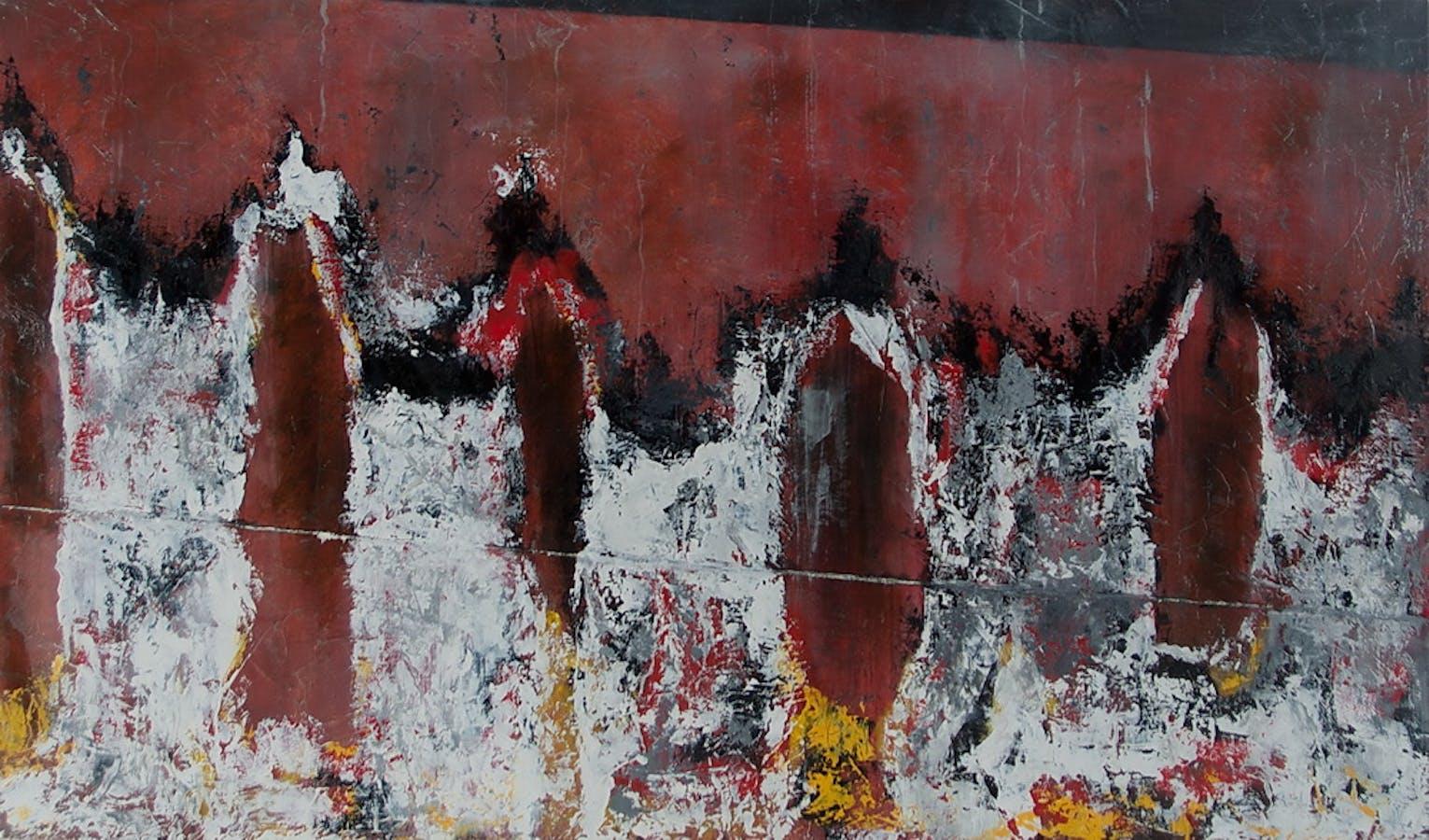 Painting by Melinda Hannigan