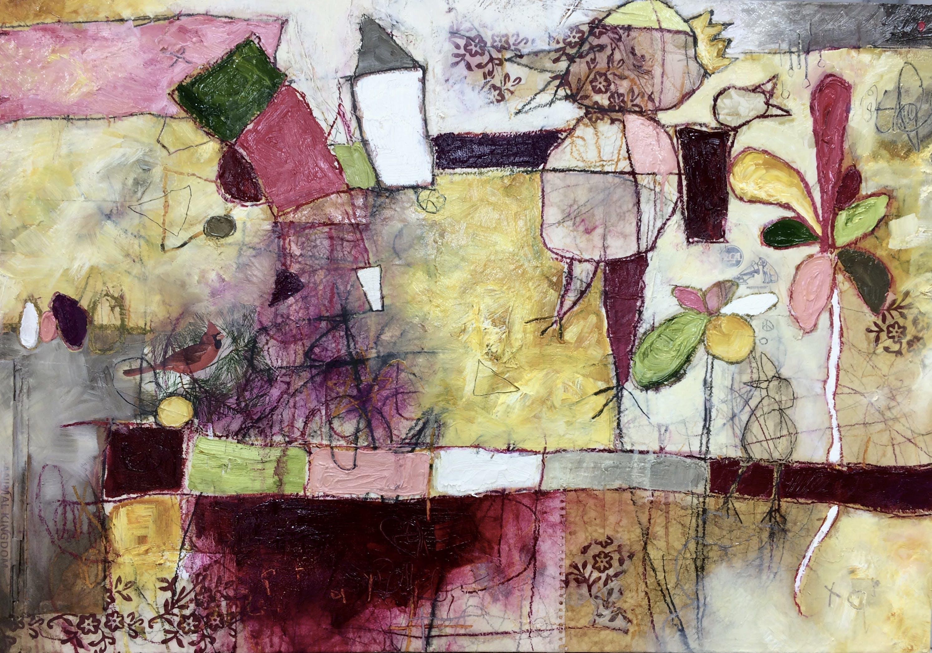 Painting by Caroline James