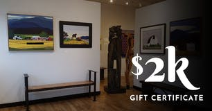 Gift Certificates by WaterWorks Gallery