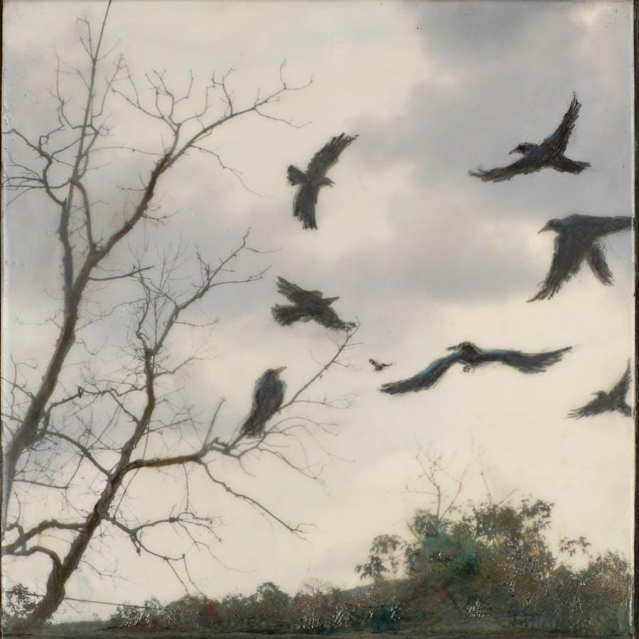 Painting by Catherine Eaton Skinner