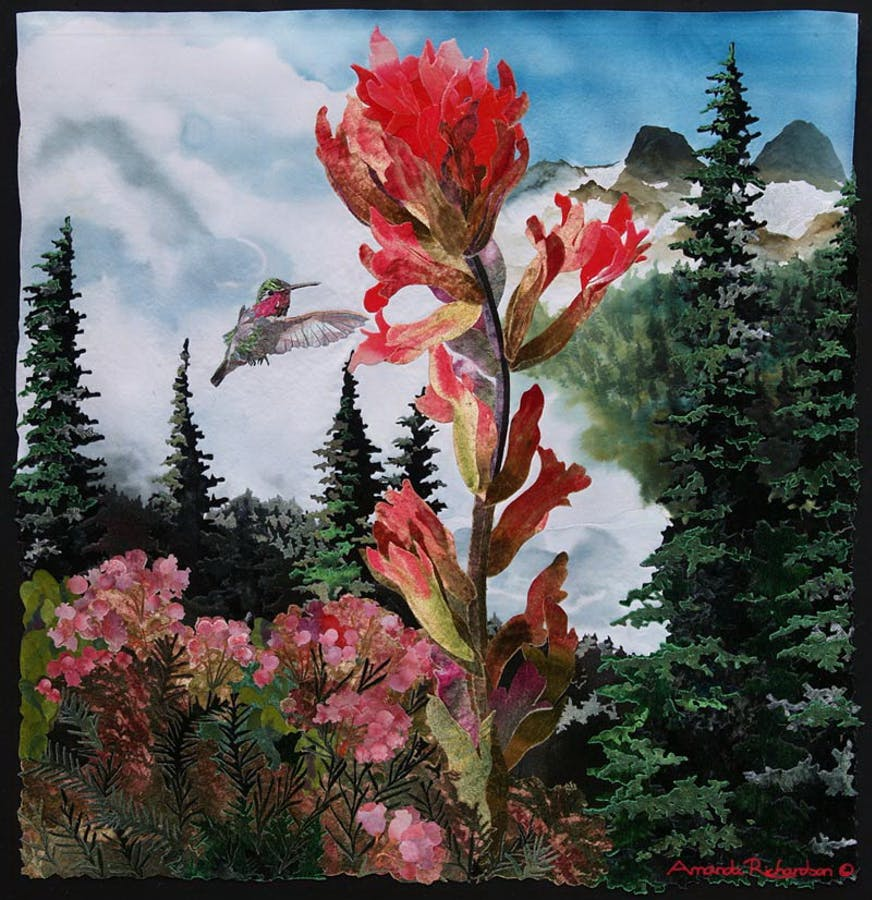 Painting by Amanda Richardson