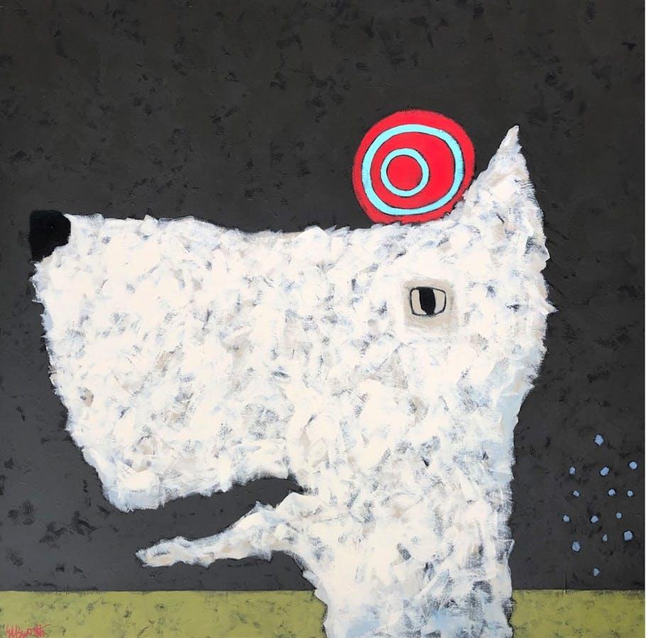 Painting by Jaime Ellsworth