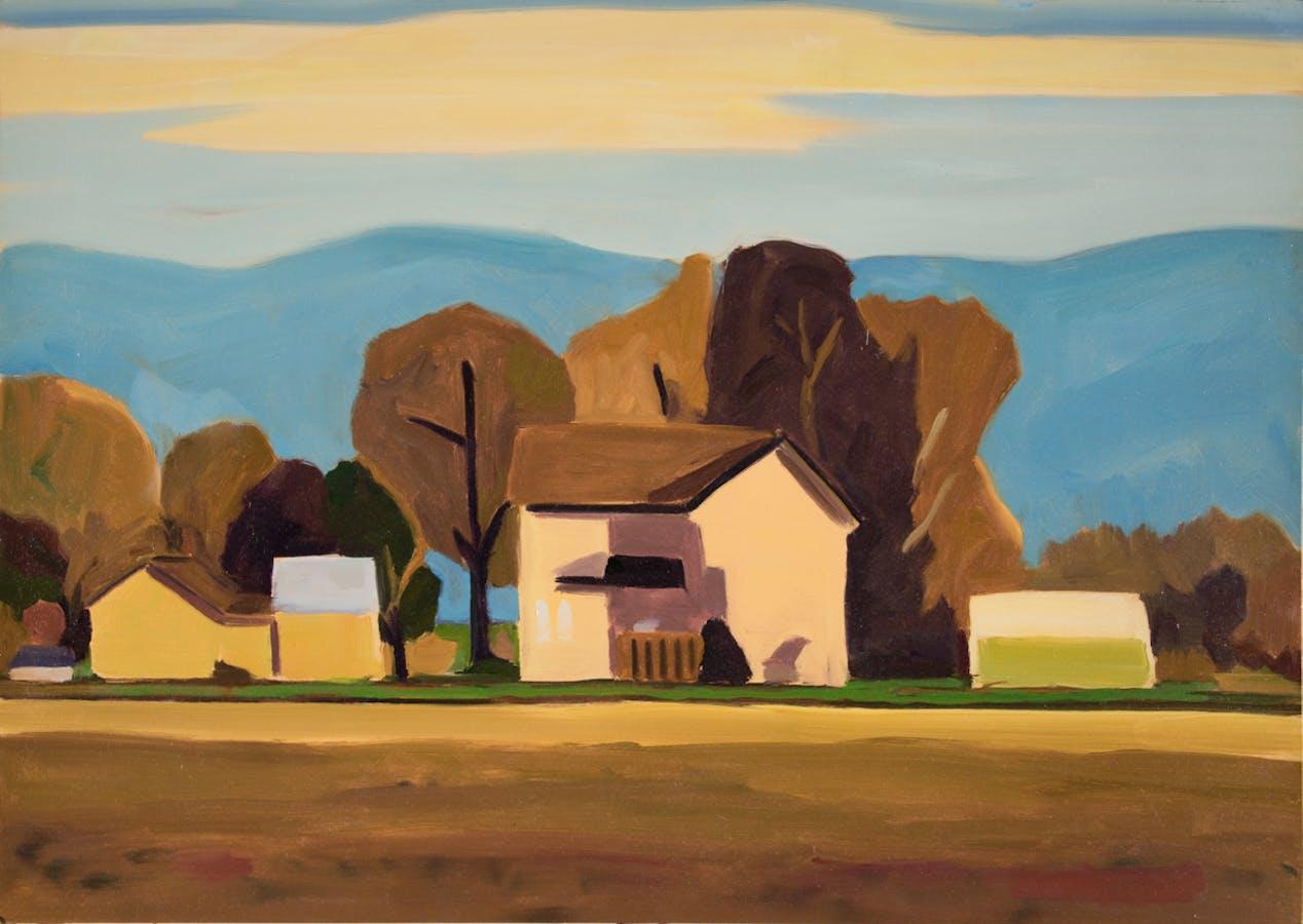 Painting by David Ridgway