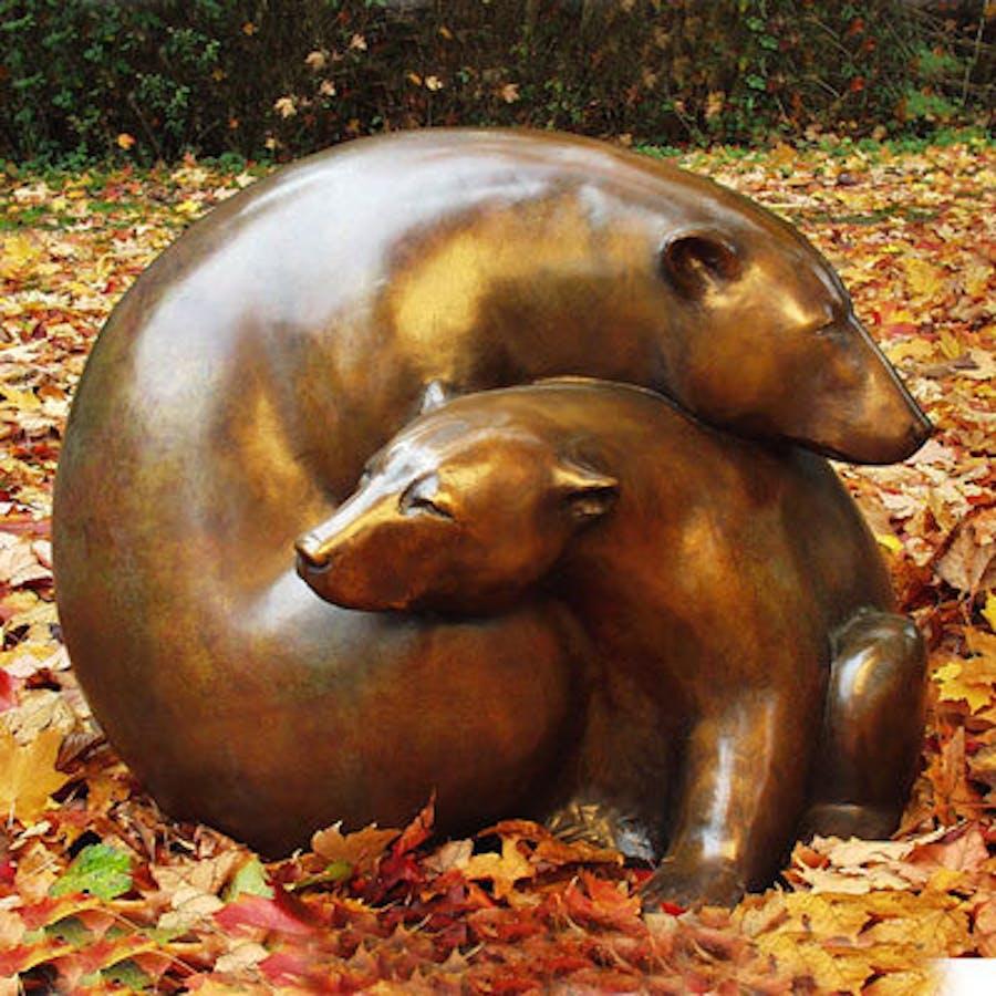 Sculpture by Georgia Gerber